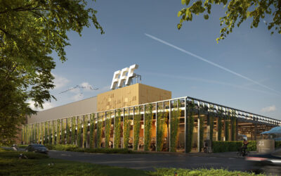 VDG Real Estate develops VDG Warehouse Schiphol Trade Park: 13,500 m2 let to Fast Forward Freight