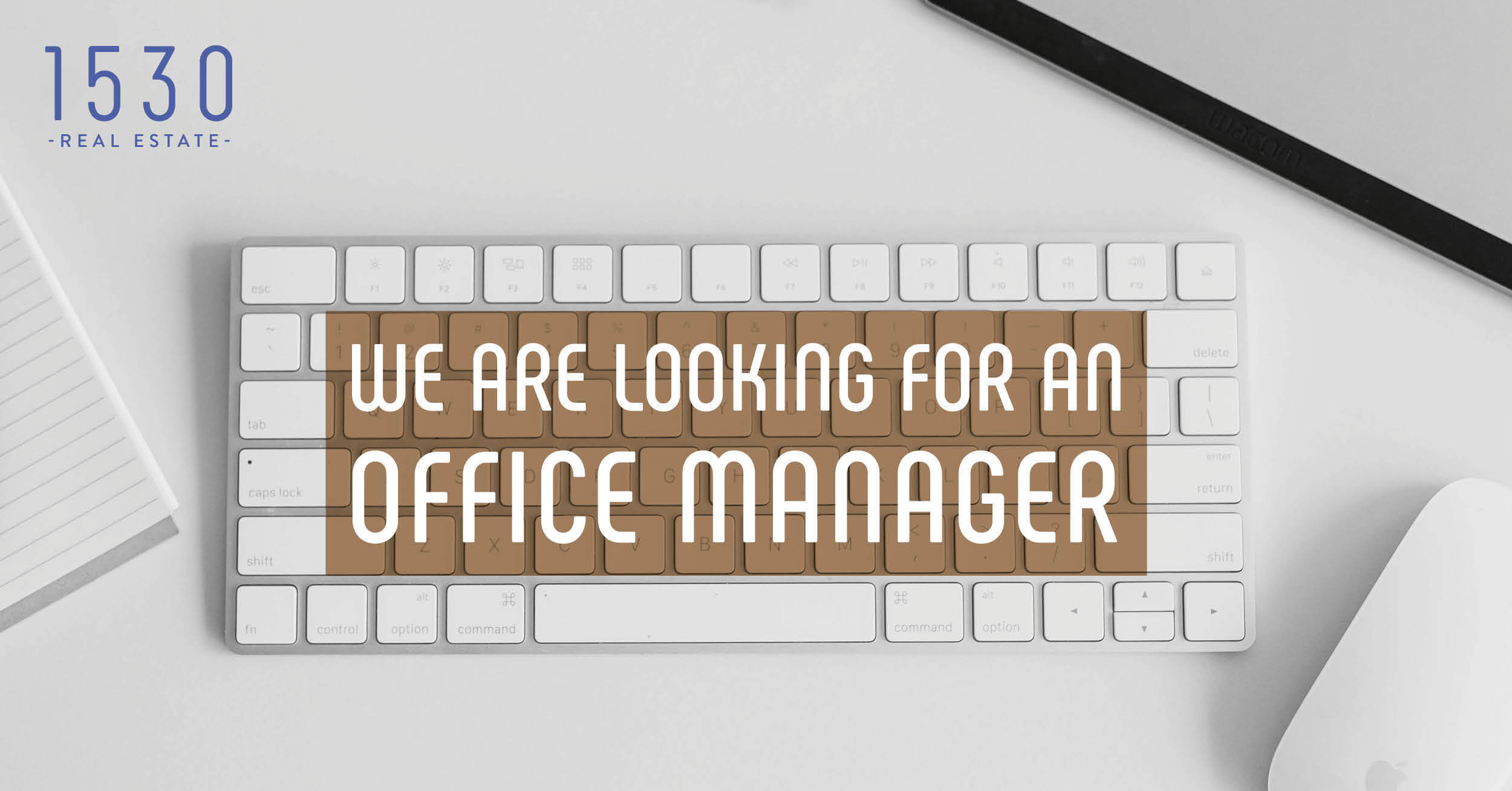 vacature office manager 1530